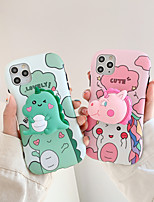 cheap -Case For Apple iPhone 11 / iPhone 11 Pro / iPhone 11 Pro Max Shockproof / with Stand Back Cover Cartoon TPU