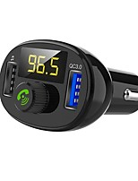 cheap -BT23 Car MP3 Player QC3.0 Fast Charging LED screen Hand-free FM Transmitter