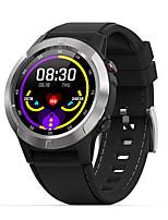 Недорогие -m4s gps ip67 2g bluetooth call спорт сердечный ритм артериальное давление умные часы емкость полный круг встроенный экран
