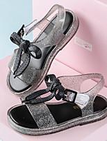 cheap -Girls' Comfort PVC Sandals Toddler(9m-4ys) Black / Pink / Silver Summer