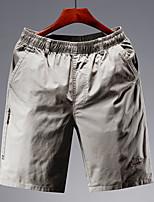 cheap -Men's Hiking Shorts Hiking Cargo Shorts Summer Outdoor Breathable Quick Dry Sweat-wicking Comfortable Cotton Shorts Bottoms Hunting Fishing Climbing Army Green Khaki Dark Blue XL XXL XXXL 4XL 5XL