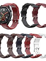 Недорогие -ретро кожаный ремешок для часов ремешок на запястье для часов Huawei GT 2 46 мм / 42 мм / честь магия / магия 2 46 мм / 42 мм / гт активные / часы 2 Pro / классический сменный браслет браслет