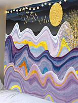 cheap -Tongdi Tapestry Moderne Elegante Parijs Stad Landschap Olieverf Print Wall Opknoping Mat Decor Voor Thuis Parlor Slaapkamer Woonkamer