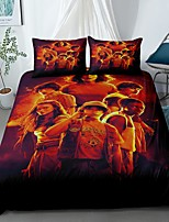 cheap -Home Textiles 3D Bedding Set  Duvet Cover with Pillowcase 2/3pcs Bedroom Duvet Cover Sets  Bedding Stranger Things
