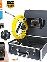 cheap -7inch DVR 30M HD1080P Drain Sewer Pipeline Industrial Endoscope Pipe Inspection Video Camera with DVR Video Recording / WIFI Wireless / Photo Editing