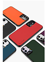 cheap -Case For Apple iPhone 7/8/7P/8P/X/XR/XS/XA Max/11/11Pro/11Pro Max/SE 2020 Shockproof Back Cover Solid Colored PU Leather / TPU / Plastic