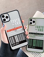 cheap -Case For Apple iPhone 11 / iPhone 11 Pro / iPhone 11 Pro Max Shockproof Back Cover Word / Phrase PC