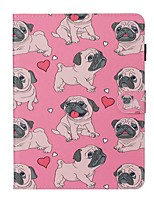 cheap -Case For Apple iPad New Air 10.5 / iPad Mini 3/2/1/4/5 Card Holder / with Stand / Flip Full Body Cases Dog PU Leather For iPad 10.2 2019/Pro 11 2020/Pro 9.7/2017/2018