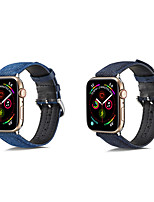 cheap -Watch Band for Apple Watch Series 5/4/3/2/1 Apple Classic Buckle / Business Band Genuine Leather Wrist Strap