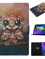 cheap -Case For Apple iPad Air / iPad Mini 3/2/1 / iPad Mini 4 Card Holder / with Stand / Pattern Full Body Cases Animal PU Leather For iPad New Air 2019 10.5/Pro 11 2020/Mini 5/iPad 10.2/2017/2018