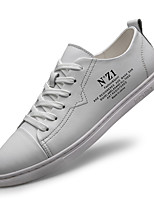 cheap -Men's Summer Casual Daily Sneakers PU Non-slipping White / Black