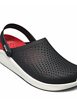 cheap -Men's Summer Outdoor Sandals PVC Non-slipping Black / Red / Army Green