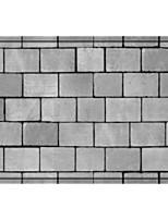 cheap -Grey Brick Print High Quality Memory Foam Bathroom Carpet and Door Mat Non-slip Absorbent Super Comfortable Flannel Bathroom Carpet Bed Rug
