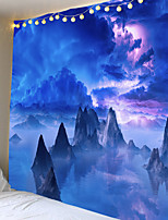 cheap -Psychedelische Bohemian Mandala Gedrukt Polyester Tapijt Muur Opknoping Voor Versieren Thuis Woonkamer Slaapkamer Kantoor 6 Maten