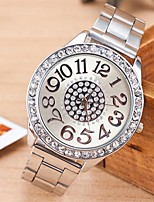 cheap -Women's Quartz Watches Fashion Silver Alloy Chinese Quartz Rose Gold Gold Silver Casual Watch Analog One Year Battery Life