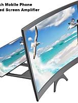 Недорогие -12inch новый мобильный телефон изогнутый экран усилитель HD 3D видео мобильный телефон увеличительное стекло подставка кронштейн телефона складной держатель