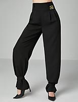 cheap -Ballroom Dance Pants Draping Women's Training Performance Elastic