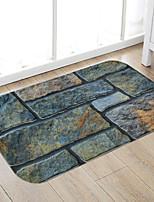 cheap -Fancy Stones Print High Quality Memory Foam Bathroom Carpet and Door Mat Non-slip Absorbent Super Comfortable Flannel Bathroom Carpet Bed Rug