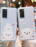 cheap -Huawei Case Shockproof TPU Cartoon Pattern for P20 Pro P30 Pro Mate20 Pro Mate 30 Pro Nova5 Back Cover