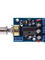 Недорогие -tea2025b 2.0 стерео двухканальный мини аудио усилитель плата для динамика 3w3w 5v 9v 12v автомобиля