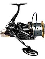 cheap -Fishing Reel Spinning Reel 4.7:1 Gear Ratio+12 Ball Bearings Sea Fishing / Freshwater Fishing / Bass Fishing / Trolling & Boat Fishing / Right-handed / Left-handed