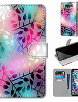 cheap -Case For LG Q70 / LG K50S / LG K40S Wallet / Card Holder / with Stand Full Body Cases Translucent Glass PU Leather / TPU for LG K30 2019 / LG K20 2019