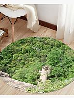 Недорогие -3d современный круглый коврик коврик не скользит абсорбирующий ковер коврик для йоги для прихожей спальня гостиная диван домашнего декора