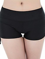 cheap -Women's Swim Shorts Bottoms Breathable Quick Dry Limits Bacteria Swimming Diving Solid Colored Summer / High Elasticity