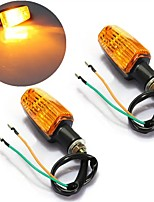 cheap -2Pcs Universal Motorcycle Motorbike Turn Signal Indicator Turning Lights Bulb Amber