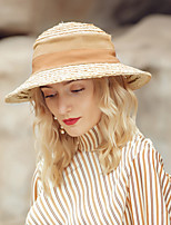 cheap -Casual / Daily Natural Fiber / Cotton Hats with Color Block 1pc Casual / Daily Wear Headpiece