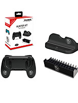 cheap -LITBest TNS-860 Game Accessories Kits For Nintendo Switch Game Accessories Kits ABS 3 pcs unit