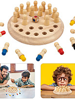 cheap -Board Game Educational Toy Wooden family game Party Game Parent-Child Interaction Family Interaction Home Entertainment Kids Child's Boys and Girls Toys Gifts