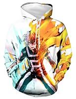 cheap -Inspired by My Hero Academia Boko No Hero Ochaco Uraraka Cosplay Costume Hoodie Polyster Print Printing Hoodie For Men's / Women's