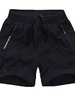 """cheap -Women's Hiking Shorts Summer Outdoor 10"""" Loose Breathable Quick Dry Sweat-wicking Comfortable Cotton Shorts Bottoms Camping / Hiking Hunting Fishing Black M L XL XXL XXXL / Wear Resistance"""