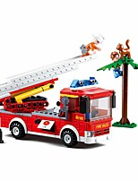 cheap -Building Blocks Educational Toy Construction Set Toys 269 pcs Truck Cartoon compatible Plastic Shell Legoing Exquisite Hand-made Decompression Toys DIY Boys and Girls Toy Gift / Kid's