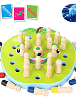 cheap -Board Game Educational Toy Wooden family game Parent-Child Interaction Family Interaction Home Entertainment Kids Children's Boys and Girls Toys Gifts