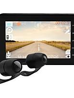 Недорогие -Водонепроницаемый 1080p / 720p мотоцикл Wi-Fi DVR MT003 4-дюймовый ips-дисплей с защитой от сотрясений двойной записи вождения рекордер тире камеры