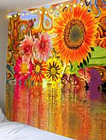 cheap -Mooie Rode Grote Boom Gedrukt Grote Wandtapijten Goedkope Hippie Muur Opknoping Bohemian Wandtapijten Mandala Muur Art Decor