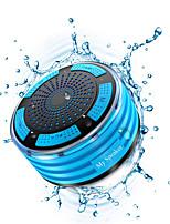 Недорогие -портативные беспроводные Bluetooth-динамики водонепроницаемый ipx7 радио 8 часов воспроизведения 5 Вт бас-звучание душ динамик стерео сопряжение прочный дизайн дворе на открытом воздухе путешествия