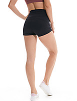 cheap -Women's High Waist Yoga Shorts Fashion Black Purple Red Army Green Elastane Running Fitness Gym Workout Bottoms Sport Activewear Breathable Tummy Control Butt Lift High Elasticity