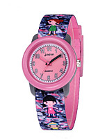 cheap -Kids Sport Watch Automatic self-winding Water Resistant / Waterproof Analog Cartoon - Purple