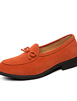 cheap -Men's Summer / Fall Business / Classic Daily Office & Career Loafers & Slip-Ons Faux Leather Non-slipping Wear Proof Black / Orange / Green / Tassel / Tassel
