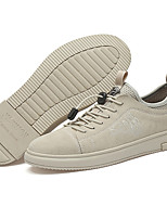 cheap -Men's Summer Casual Daily Sneakers PU Non-slipping Light Brown / Gray