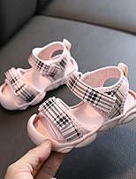 cheap -Girls' Comfort PU Sandals Toddler(9m-4ys) / Little Kids(4-7ys) Pink / Beige Summer