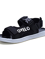 cheap -Men's Spring & Summer British Daily Outdoor Sandals Walking Shoes Cotton / Mesh Breathable Wear Proof White / Black