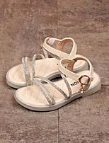 cheap -Girls' Comfort PVC Sandals Little Kids(4-7ys) Black / Beige Summer