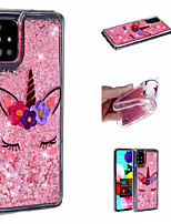 cheap -Case For Samsung Galaxy A71 A51 Phone Case TPU Material Quicksand Painted Pattern Phone Case for Samsung Galaxy A70 A50 A40 A30 A20 A10 A20E