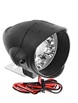 cheap -12V-80V 6 LED Front Headlights Strong Brightness Shark Shape Motorcycle Far Illumination