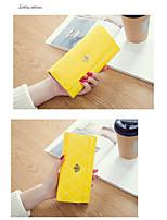 Недорогие -Жен. Пуговицы PU Клатч 2020 Геометрический рисунок Арбузный / Лиловый / Желтый