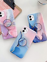 cheap -Case for Apple scene map iPhone 11 11 Pro 11 Pro Max X XS XR XS Max 8 Colorful marble pattern fine matte TPU material IMD process airbag bracket all-inclusive mobile phone case LX